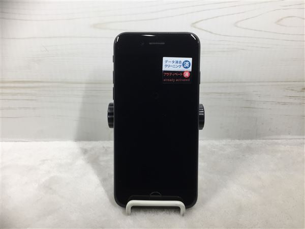 【中古】【安心保証】 iPhone7[32GB] au MNCE2J ブラック