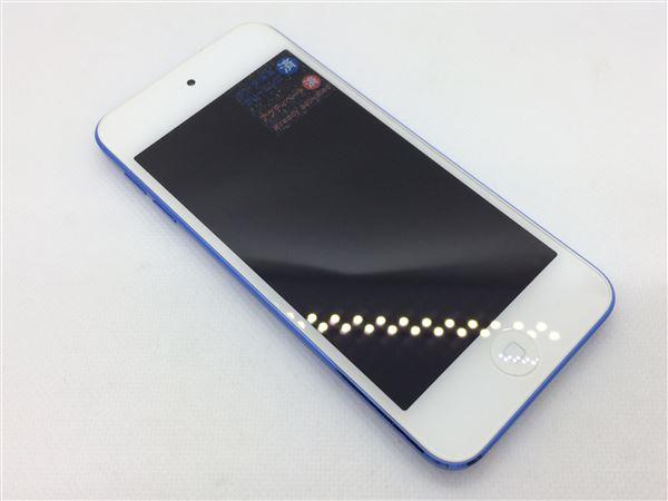 【中古】【安心保証】 iPodtouch6[32GB](ブルー)MKHV2J