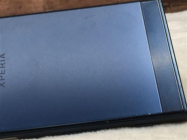 【中古】【安心保証】 SoftBank XperiaXZ 601SO フォレストブルー