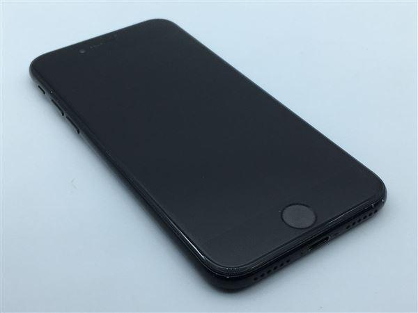 【中古】【安心保証】 iPhone7[32GB] SIMロック解除 au ジェットブラック