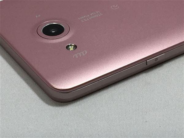【中古】【安心保証】 au LGV33 ピンク