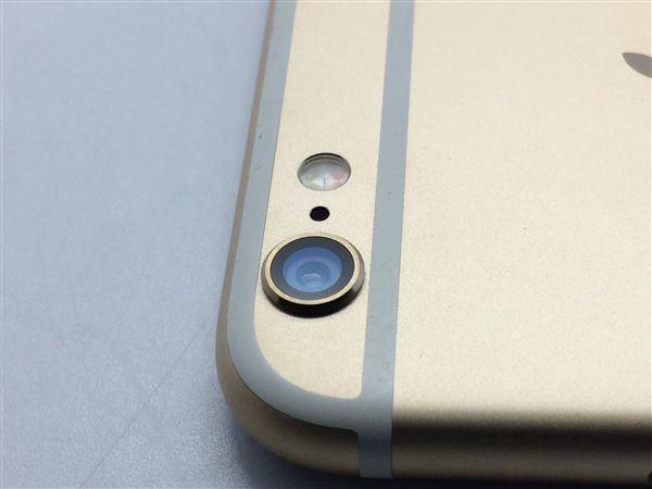 【中古】【安心保証】 iPhone6[16GB] au NG492J ゴールド