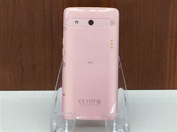 【中古】【安心保証】 au KYV32 ピンク