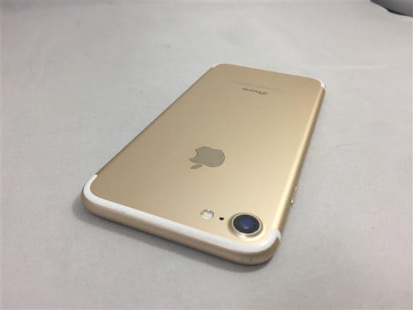 【中古】【安心保証】 iPhone7[32GB] SIMロック解除 au ゴールド