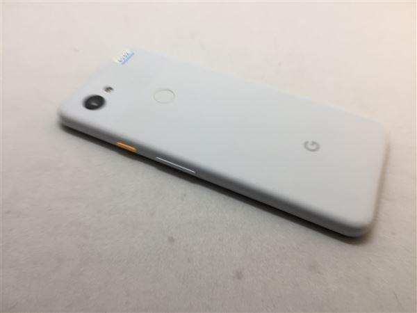 【中古】【安心保証】 SoftBank Pixel 3a[64G] クリアリーホワイト