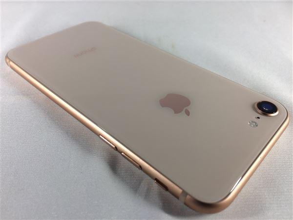【中古】【安心保証】 iPhone8[64GB] SIMロック解除 au ゴールド