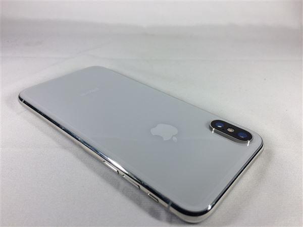 【中古】【安心保証】 iPhoneX[256GB] docomo MQC22J シルバー