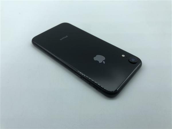 【中古】【安心保証】 iPhoneXR[256GB] SIMフリー ブラック