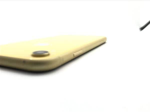 【中古】【安心保証】 iPhoneXR[128GB] SIMフリー イエロー