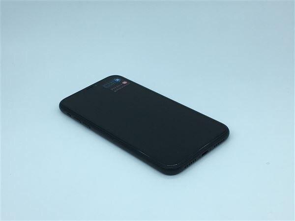 【中古】【安心保証】 iPhoneXR[64GB] SIMフリー ブラック