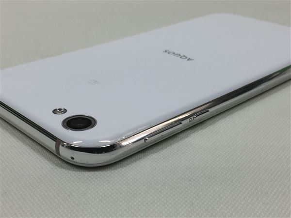 【中古】【安心保証】 SoftBank 605SH ジルコニアホワイト