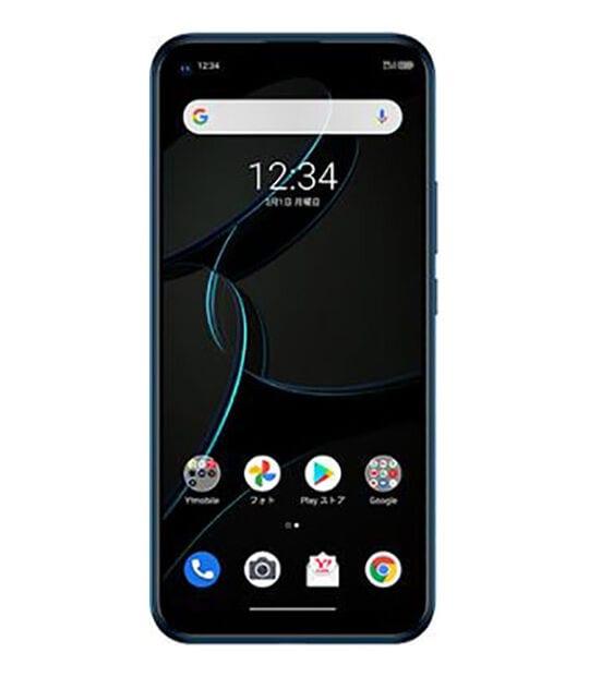 【中古】【安心保証】 Y!mobile A003ZT [64GB] (5G) ブルー