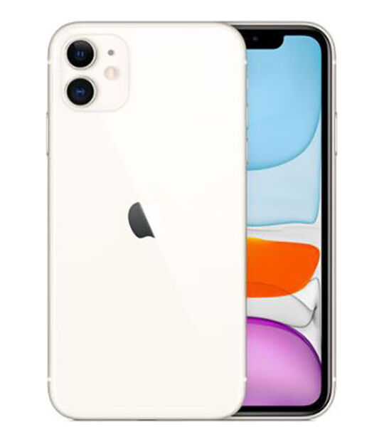 【中古】【安心保証】 iPhone11[256GB] SIMロック解除 UQモバイル ホワイト
