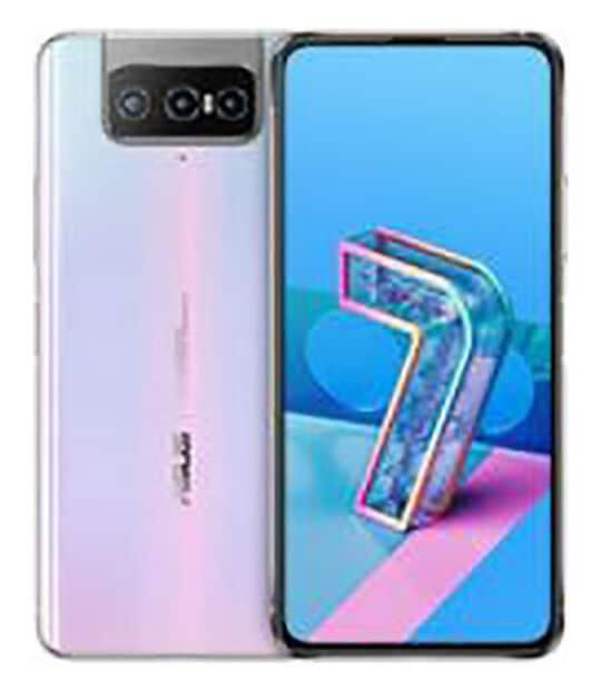 【中古】【安心保証】 SIMフリー ZenFone7[128GB] (5G) ホワイト