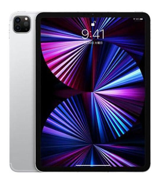 【中古】【安心保証】 iPadPro 11インチ 第3世代[128GB] セルラー au シルバー