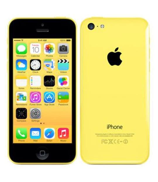 【中古】【安心保証】 iPhone5c[16GB] SoftBank ME542J イエロー