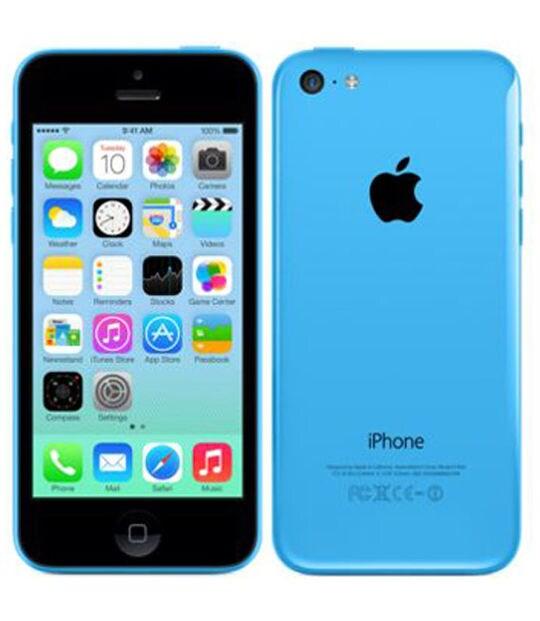 【中古】【安心保証】 iPhone5c[16GB] SoftBank ME543J ブルー