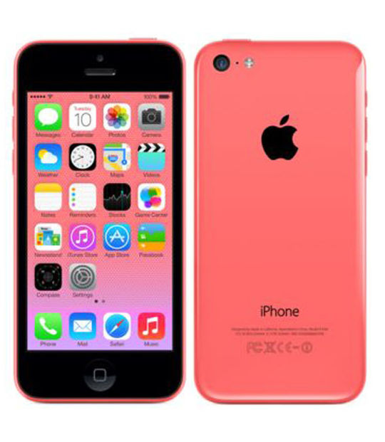 【中古】【安心保証】 iPhone5c[32GB] au MF153J ピンク