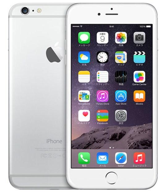 【中古】【安心保証】 iPhone6Plus[16GB] au NGA92J シルバー
