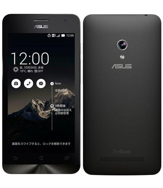 【中古】【安心保証】 SIMフリー ZenFone5_2014[16G] ブラック