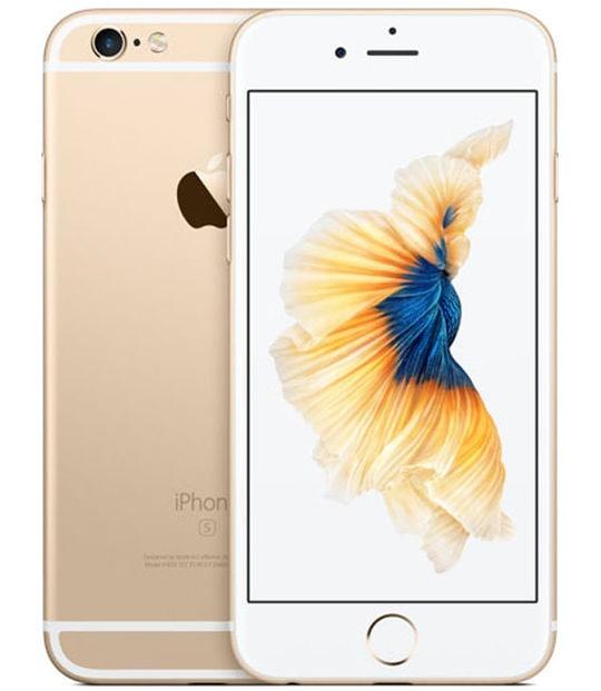 【中古】【安心保証】 iPhone6s[16GB] docomo MKQL2J ゴールド