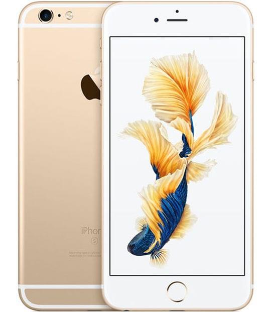 【中古】【安心保証】 iPhone6sPlus[128GB] SoftBank MKUF2J ゴールド