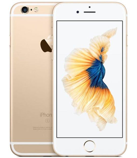 【中古】【安心保証】 iPhone6s[128GB] docomo MKQV2J ゴールド