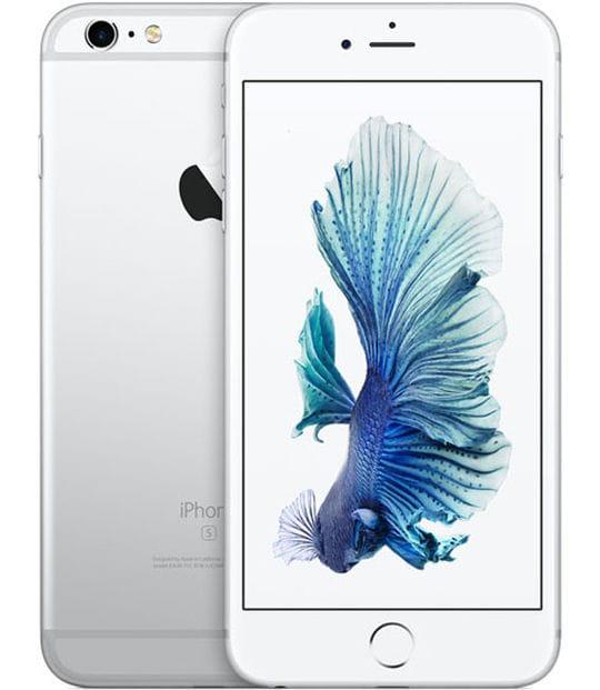 【中古】【安心保証】 iPhone6sPlus[64GB] SIMロック解除 au シルバー