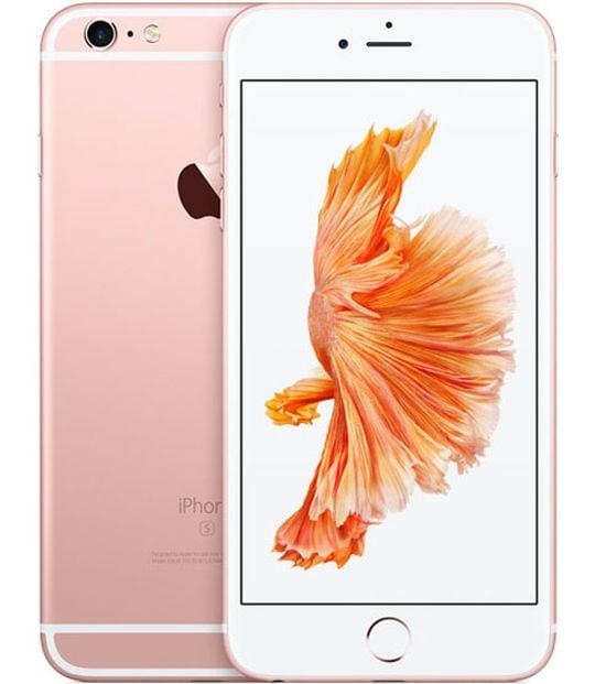 【中古】【安心保証】 iPhone6sPlus[64GB] SIMロック解除 au ローズゴールド