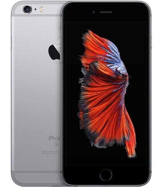 【中古】【安心保証】 iPhone6sPlus[16GB] SIMロック解除 au スペースグレイ
