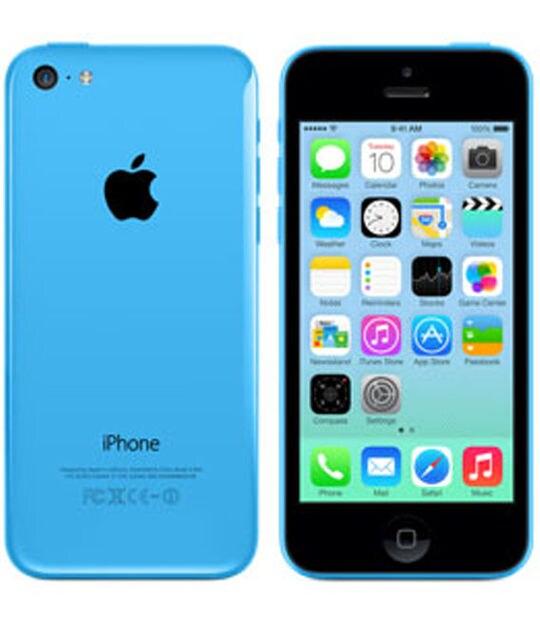 【中古】【安心保証】 iPhone5c[16GB] SoftBank NE543J ブルー