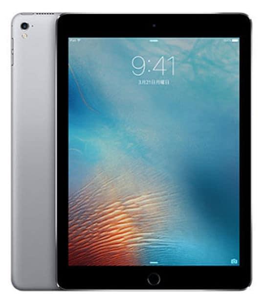 【中古】【安心保証】 iPadPro 9.7インチ 第1世代[256GB] セルラー au スペースグレイ