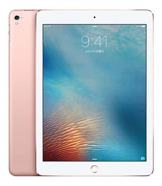 【中古】【安心保証】 iPadPro 9.7インチ 第1世代[32GB] セルラー SoftBank ローズゴールド