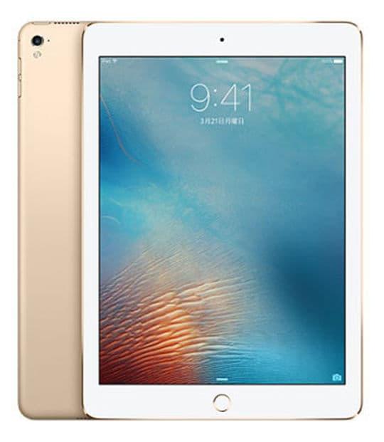 【中古】【安心保証】 iPadPro 9.7インチ 第1世代[32GB] SIMフリー ゴールド