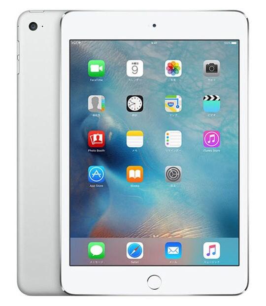 【中古】【安心保証】 iPadmini4 7.9インチ[64GB] セルラー docomo シルバー