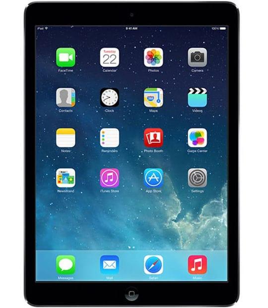 【中古】【安心保証】 iPadAir 9.7インチ 第1世代[32GB] SIMフリー スペースグレイ