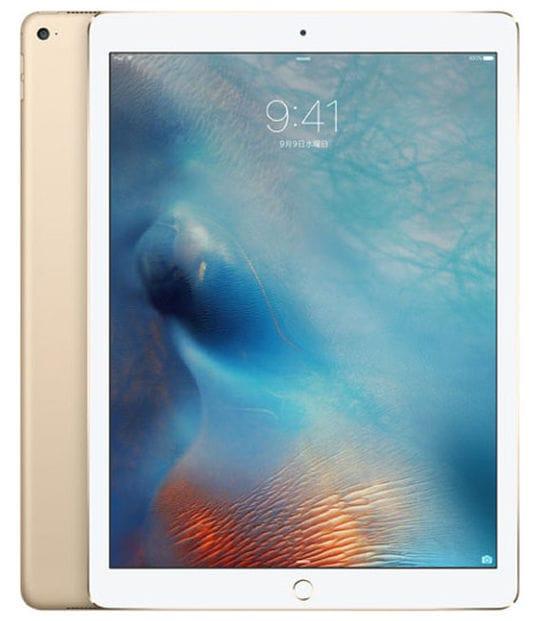 【中古】【安心保証】 iPadPro 12.9インチ 第1世代[128GB] SIMフリー ゴールド