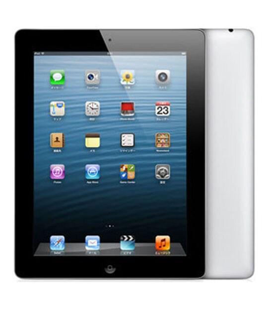 【中古】【安心保証】 iPad4/iPadRetinaディスプレイ 9.7インチ[128GB] Wi-Fiモデル ブラック
