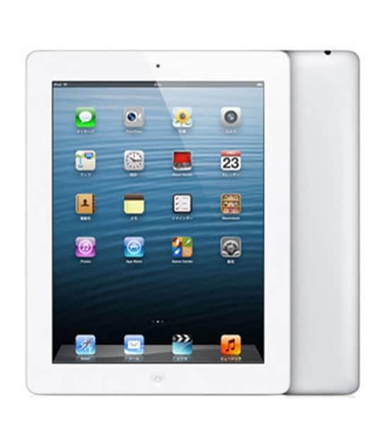【中古】【安心保証】 iPad4/iPadRetinaディスプレイ 9.7インチ[128GB] Wi-Fiモデル ホワイト