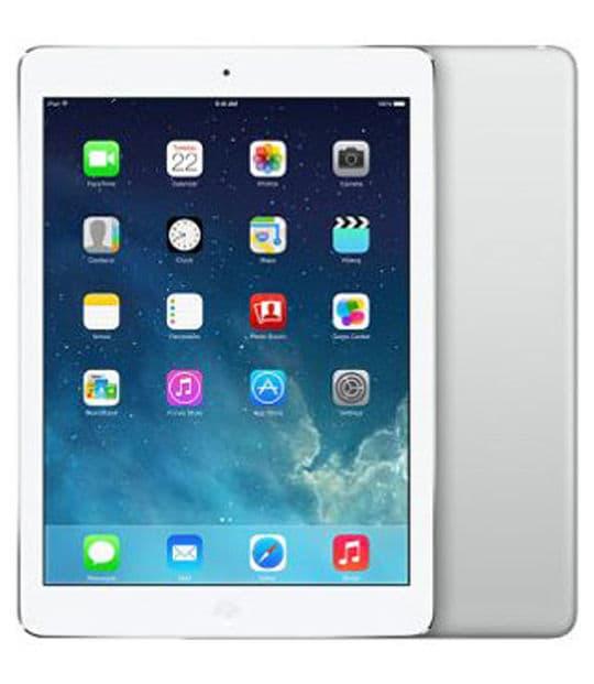 【中古】【安心保証】 iPadAir 9.7インチ 第1世代[64GB] セルラー docomo シルバー