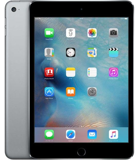 【中古】【安心保証】 iPadmini4 7.9インチ[64GB] Wi-Fiモデル スペースグレイ