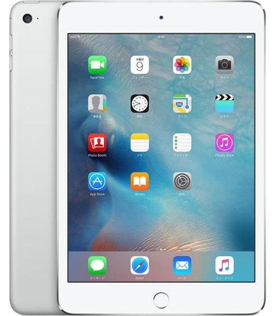 【中古】【安心保証】 iPadmini4 7.9インチ[64GB] Wi-Fiモデル シルバー