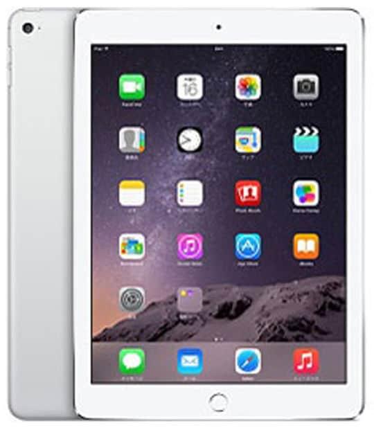 【中古】【安心保証】 iPadAir 9.7インチ 第2世代[64GB] SIMフリー シルバー