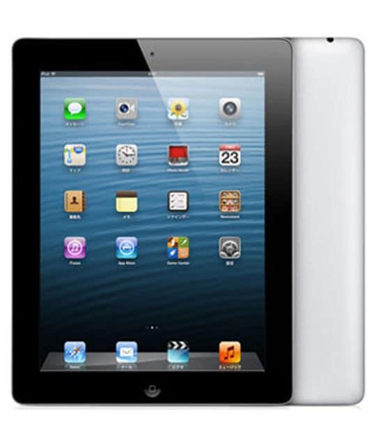 【中古】【安心保証】 iPad4/iPadRetinaディスプレイ 9.7インチ[16GB] セルラー SoftBank ブラック