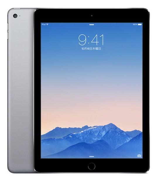 【中古】【安心保証】 iPadAir 9.7インチ 第2世代[16GB] Wi-Fiモデル スペースグレイ