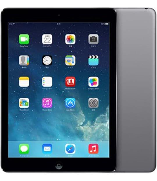 【中古】【安心保証】 iPadAir 9.7インチ 第1世代[16GB] セルラー SoftBank スペースグレイ