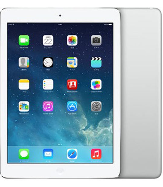 【中古】【安心保証】 iPadAir 9.7インチ 第1世代[128GB] セルラー au シルバー