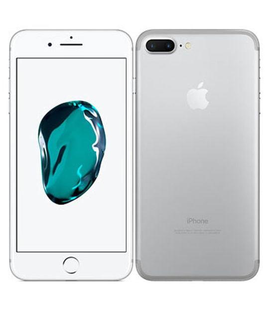 【中古】【安心保証】 iPhone7Plus[256GB] SoftBank MN6M2J シルバー