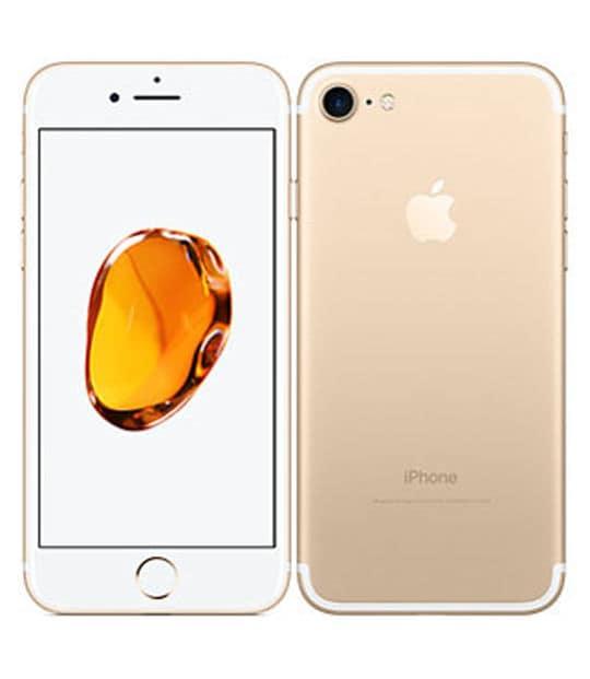 【中古】【安心保証】 iPhone7[32GB] SIMフリー ゴールド