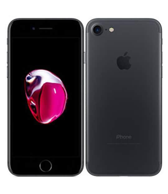 【中古】【安心保証】 iPhone7[128GB] SIMロック解除 au ブラック